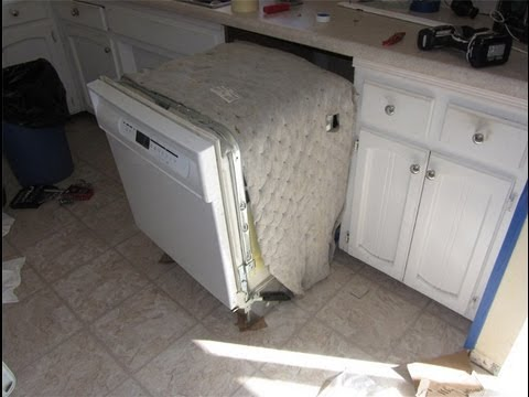 Dishwasher Removal Amp Installation Youtube
