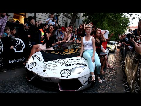 2016 GUMBALL 3000 ARRIVES IN BUDAPEST, HUNGARY!!
