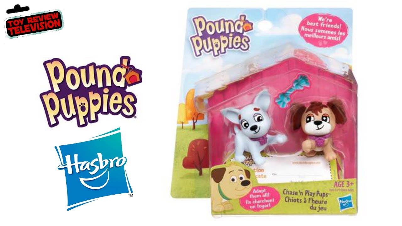 Pound A Ball Toy Toys : Pound puppies figures twin pack by hasbro toy review