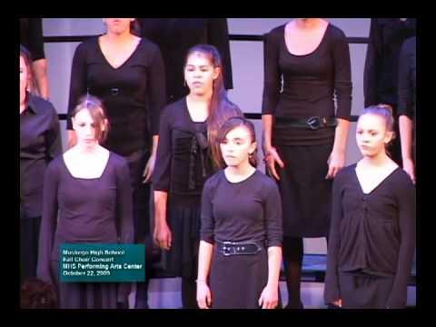 2009 MHS Fall Choir Concert - Blow Bugle Blow