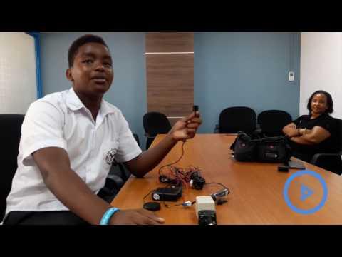 Mombasa student invents a bump detector