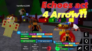 Jojo Blox Finding An Act 4 Arrow Youtube We have compiled and put together an awesome list with all the guns, bows and arrows, staffs, magical swords, spells, and more! jojo blox finding an act 4 arrow