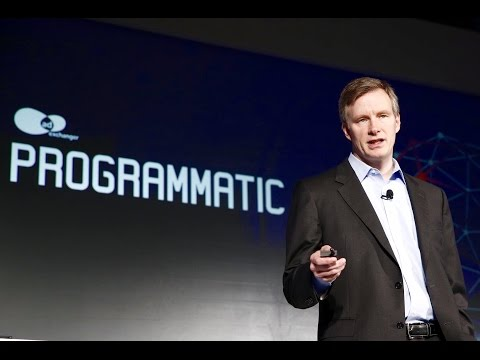 "#PROGIO: ""Programmatic Wall Street"" - Mark Mahaney, RBC Capital Markets"