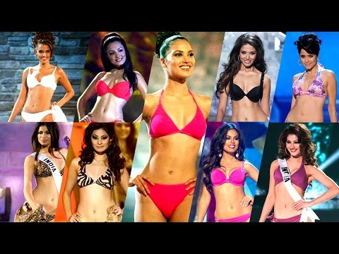 Miss Universe INDIA  - Swimsuit competition