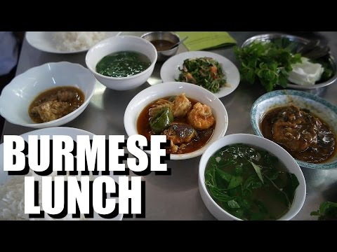 My Favorite Food in Yangon, Myanmar 2016