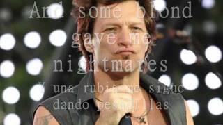 Bon Jovi- Bed of roses (sub esp-ing)