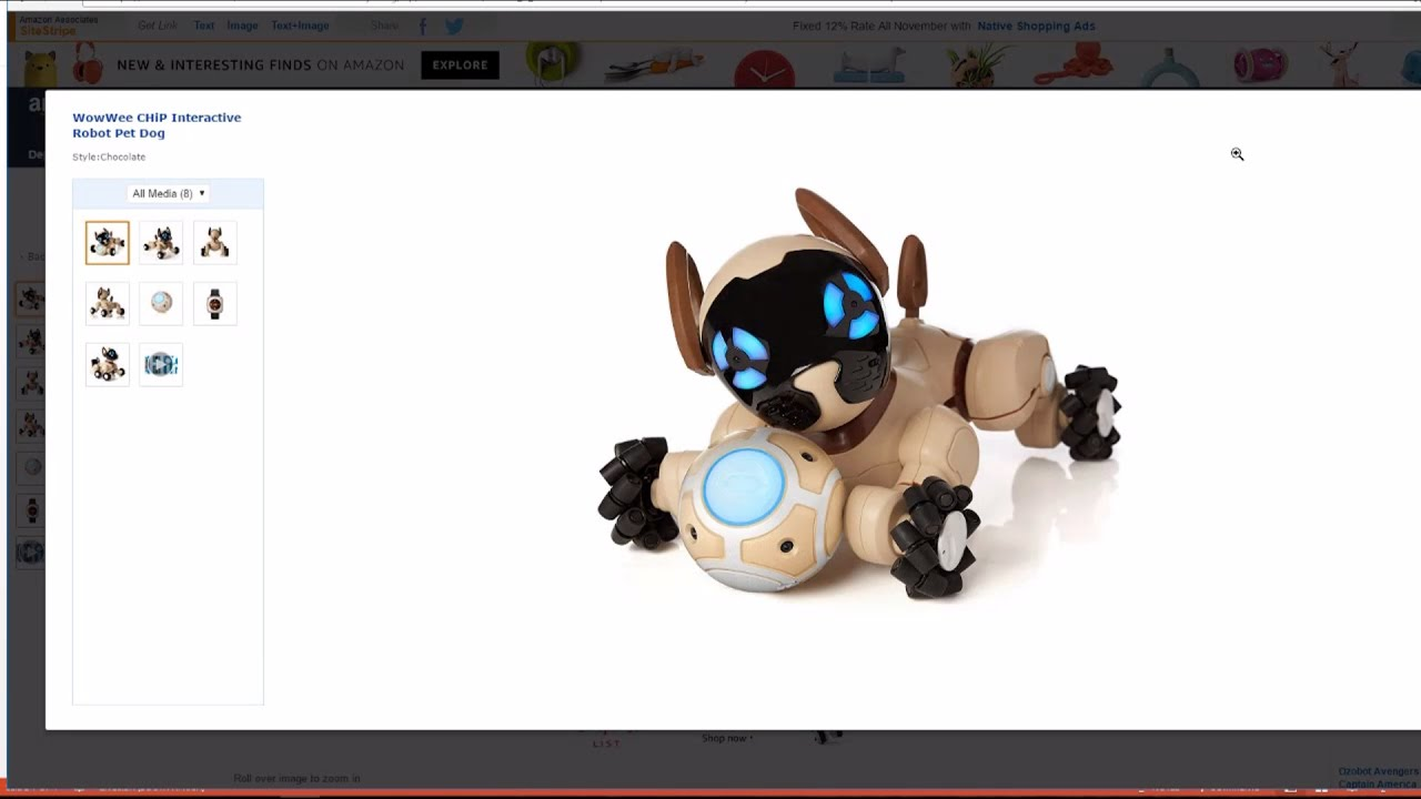 WowWee CHiP Robot Dog - a Closer Look