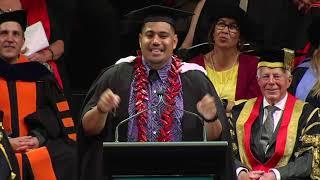 Daniel Gagau - Graduate Speaker December 2017
