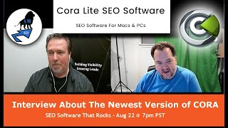 SEO Tools for 2020 | CORA Lite SEO Software | Interview and Demo with Ted Kubaitis