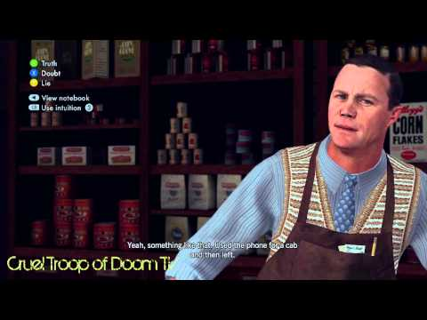 L.A. Noire: Perfect Interrogation - Clem Feeney At Fruit Market [Silk Stocking Murder Case]