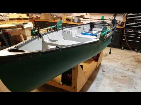 Canoe Modification For Fishing