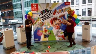 Super Mario Party Launch Event at Nintendo NY