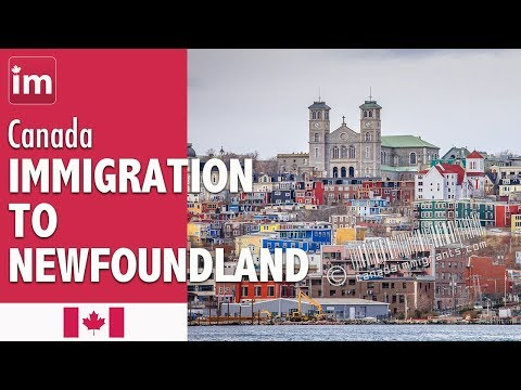 Immigration to Canada - Newfoundland attracts very few immigrants