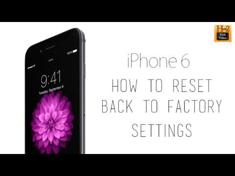 Hard reset iphone 6,5s,5c,5,4s,4 (reset to factory sett ...