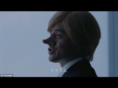 Nippon airline features big nosed westerner in 'racist' ad