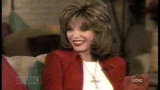 "Joan Collins 2001 interview on ""The View"" (These Old Broads)"