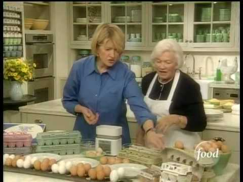 From Martha\'s Kitchen - Eggs Part 1 - YouTube