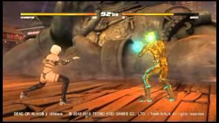 DOA5U クリスティ vs ザック ジャッキーシャムーン 検索動画 24