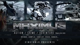 MAXIMUS - Cinematic & Trailer FX Samples -  By Cinetools