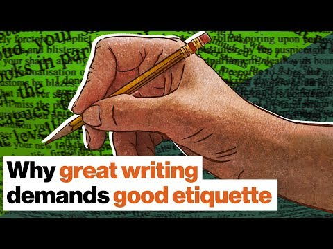 Why etiquette governs the art of writing: Lolita, Ulysses, and the arrogance of genius