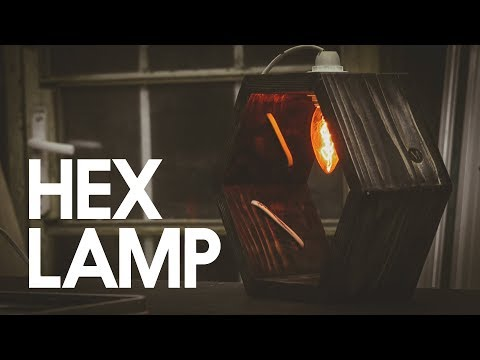 MazingDIY: Edison Hexagon Lamp