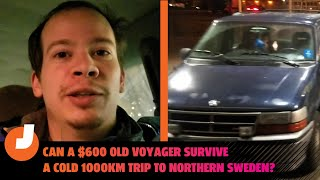 homepage tile video photo for Can My $600 Van Survive a Road Trip 1000km into Northern Sweden?