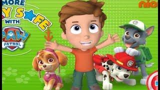 Больше Правил Безопасности. Щенячий патруль. Детская онлайн игра. Бесплатные онлайн игры.
