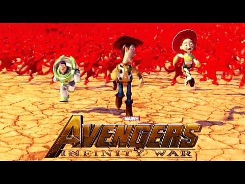 Avengers: Infinity War Trailer With Disney/Pixar Characters