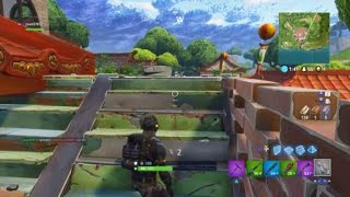 Kid gets reckt by a nade- Fortnite battle Royale