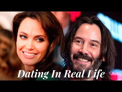 Keanu Reeves And Angelina Jolie Dating In Real Life.