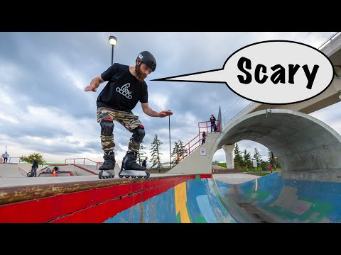 How To DROP IN And PUMP On Skates|Shaun Unwin's Guide To Riding Ramps |Part 1