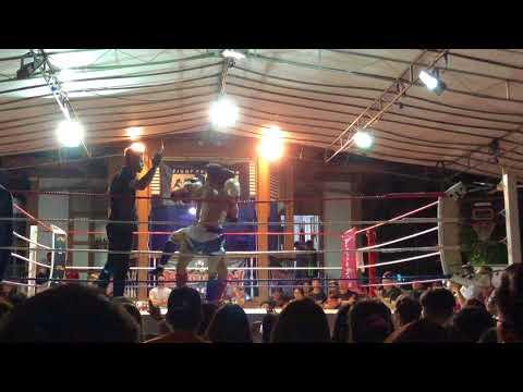 KBX Events Fight Evolution 6.  Vincent Chew(Impact MMA) VS Aloysius (United Muay Thai)