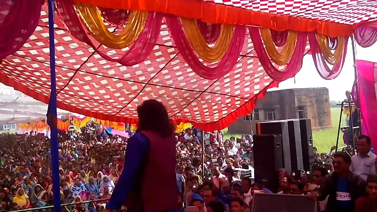 HD # गुड्डू  रंगीला लाइव प्रोग्राम यू० पी० # Guddu Rangila Live Program U P # Mata Bhajan # 2017