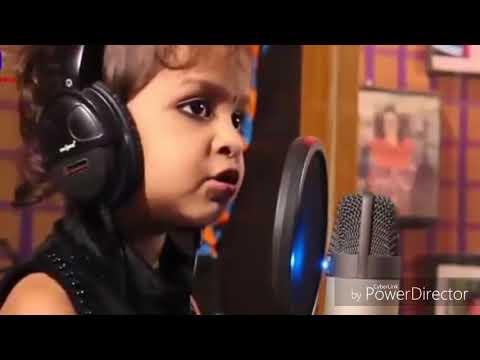 Dil hai chota sa choti si Asha Take a lovely song of 3 year old baby girl.