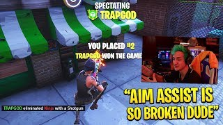 Comment abuseAIM ASSIST - obtenir 100% ACCURACY sur Fortnite (Console Aim Tips)
