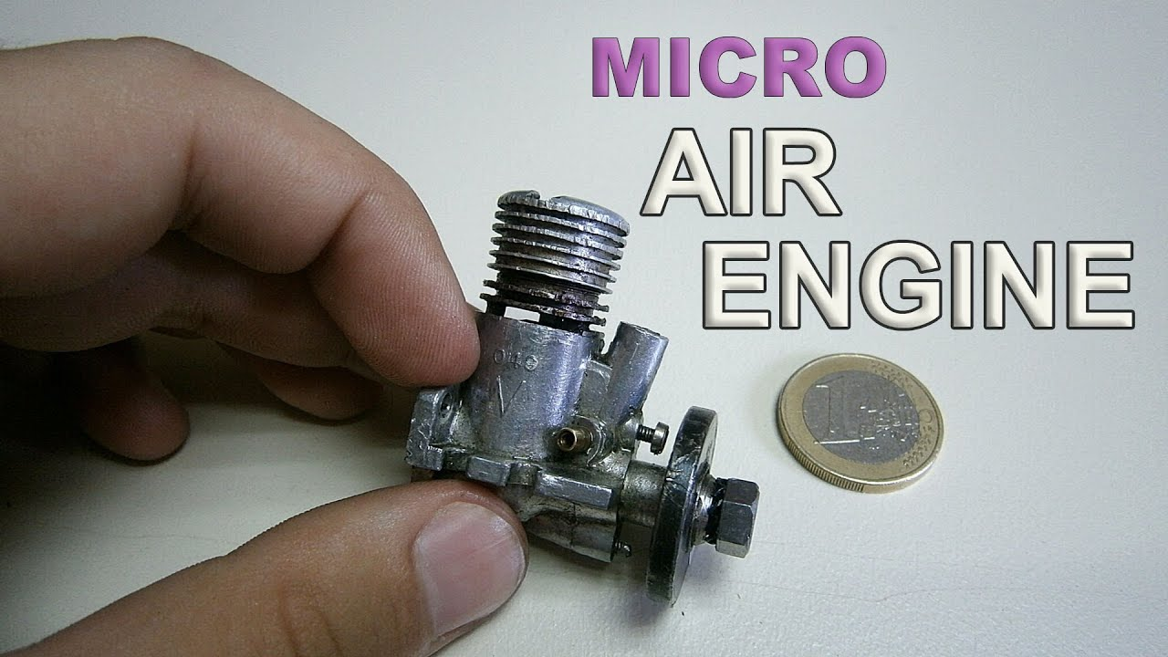 Micro Air Engine Test