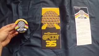 EPCOT 35th Anniversary Exclusive Map and Button | GoPro Hero 5