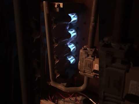 5 ton comfortmaker furnace running