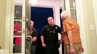 HIDDEN CAMERA PRANK: I GET ARRESTED IN FRONT OF GRANDMA!! | Ross Smith
