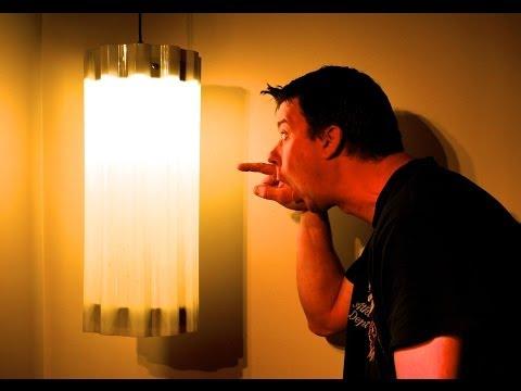 A $6.00 Mid-Century Modern IKEA/Tuftex Hack DIY Lamp