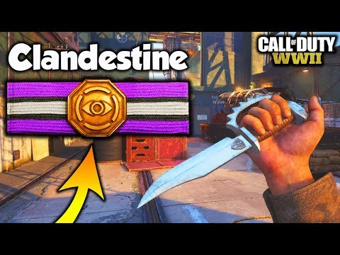 THE BEST BASIC TRAINING IN COD WW2 AFTER THE UPDATE!! CLANDESTINE BASIC TRAINING