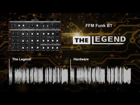 The Legend vs Hardware Synthesizer