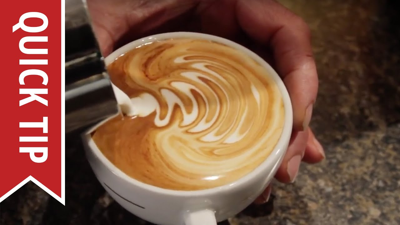 How To Create Latte Art Youtube