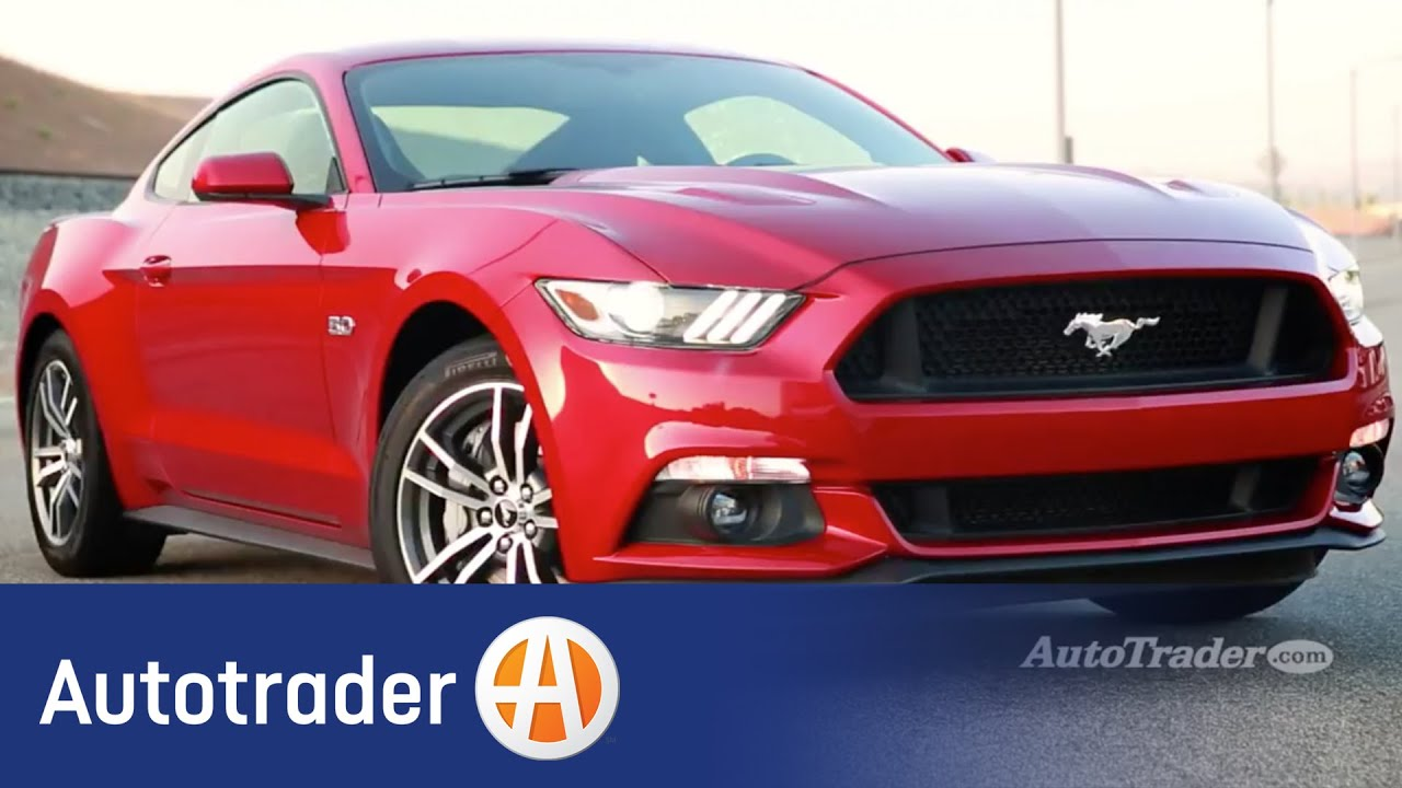 2015 Ford Mustang GT | 5 Reasons to Buy | Autotrader - YouTube