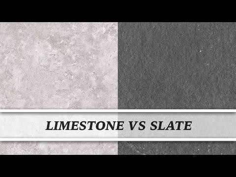 Limestone vs Slate | Countertop Comparison