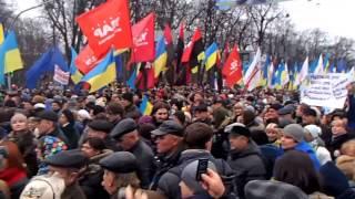 Ukrainian national strike in 1 December 2013 #Euromaidan (day)