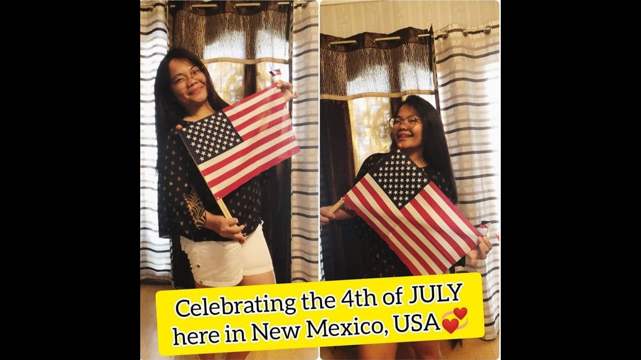 Celebrating the 4th of JULY here in New Mexico, USA #4thOfJULY #My1st4thOfJULY #NewMexicoUSA