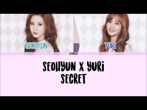 Seohyun X Yuri - Secret [Han/Rom/Eng] Picture + Color Coded Lyrics