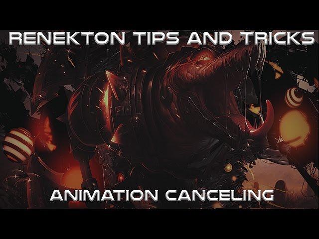 Renekton Tips and Tricks #2 Animation Canceling