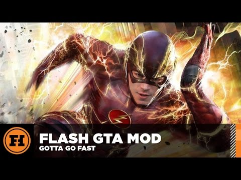 Mod Gameplay - THE FLASH Is BACK In GTA 5!